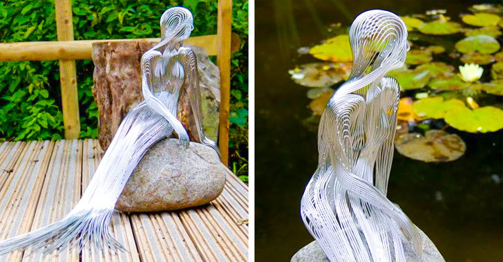 22個能夠「把你的心吸了進去」的絕美震撼雕塑 讓石頭看起來像超薄臉紗!
