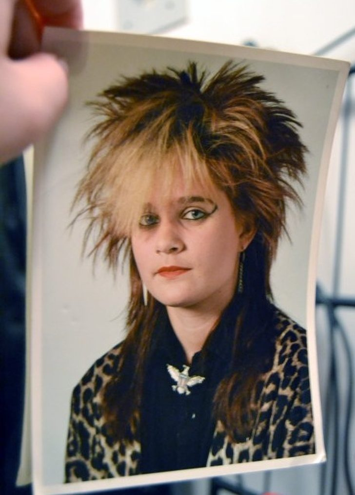 32張「爸媽超恨無法一鍵刪除」的時尚災難老照片 《七龍珠》狂髮早就流行了!