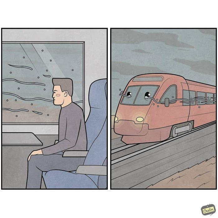 24張「第二張圖會讓你吐血」的超逆轉漫畫 「寶寶在車內」梗太壞