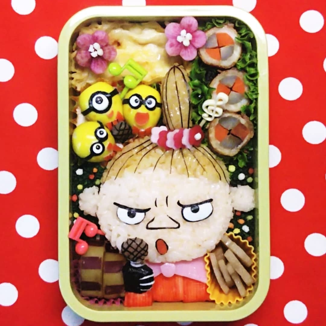 便當界宗師!日本超狂媽媽「13款神還原卡通便當」 烏蘇拉看起來更邪惡了