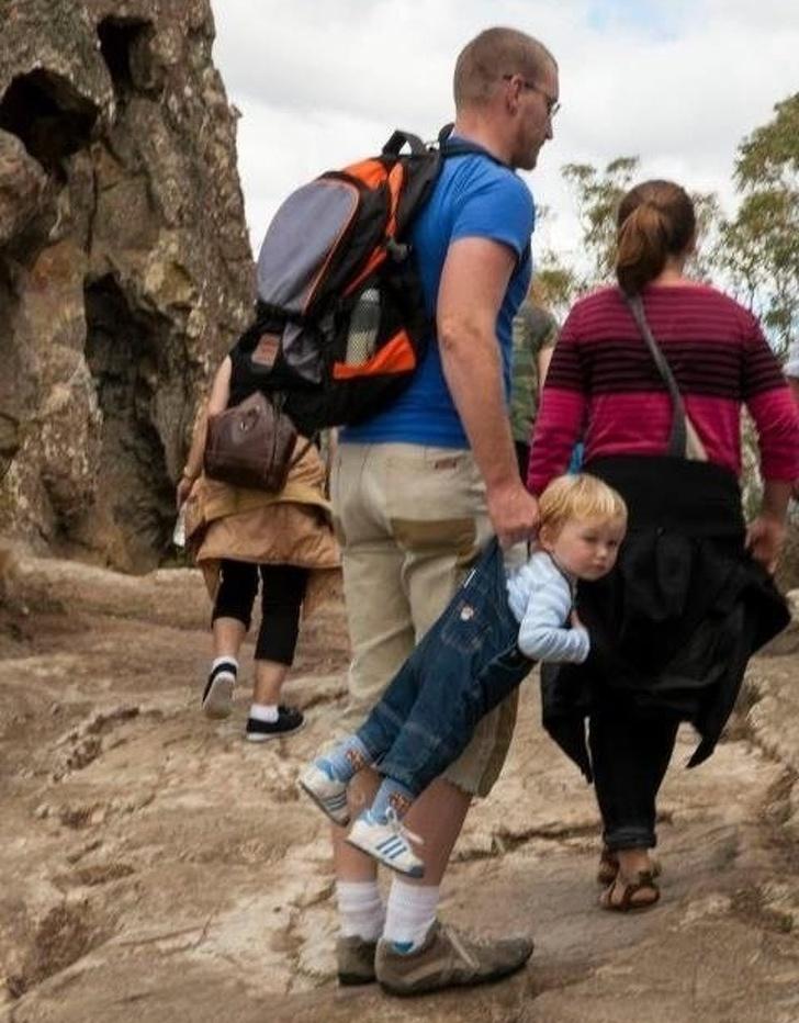 20個「帶小孩跟呼吸一樣簡單」的超人老爸 女兒出門前夠專業的老爸就會拿出「一把尺」