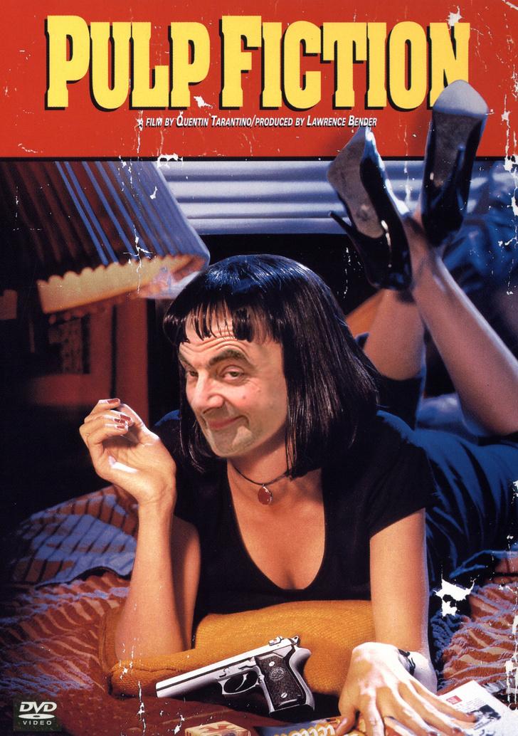 20部「如果是由豆豆先生主演一切就都變了」的爆笑電影海報 原來洛基換人演也可以!