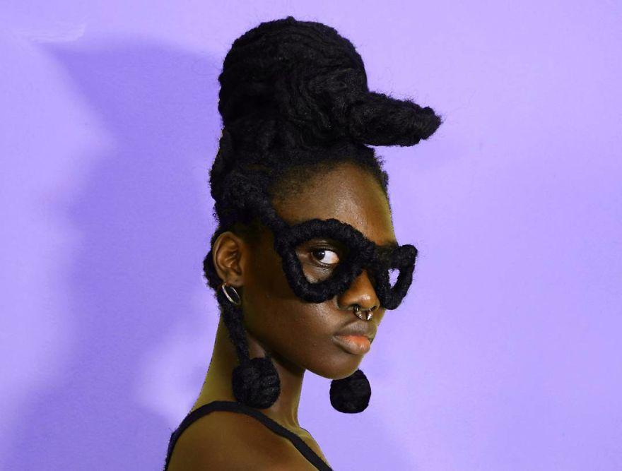 30張讓長髮公主也直接跪了的「超創意頭髮雕塑」 頭髮翅膀實在太狂啦!