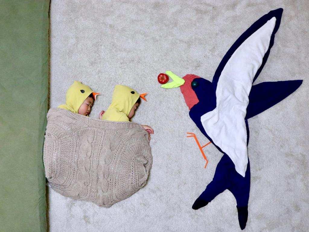 日本巧手媽咪打造「比卡通更創意場景」 寶寶每天午休都是一場華麗大冒險!