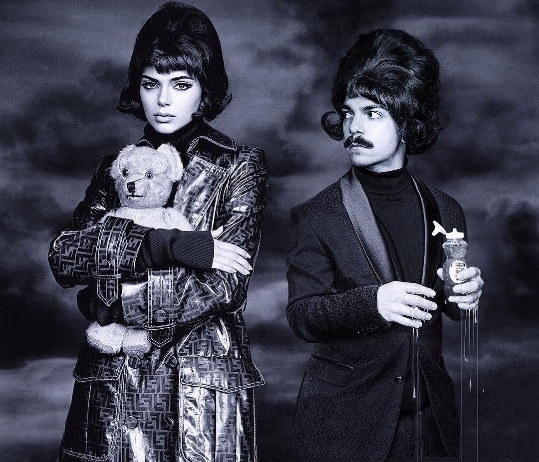 狂大叔發揮超神P圖功力 22張「他和坎達兒珍娜變雙胞胎」的無違和爆笑照