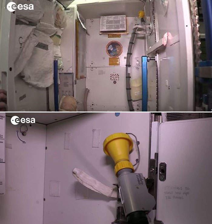 太空站「廁所壞了」竟成最慘悲劇 黃色液體在空中飛...太空人只能拿吸管收集
