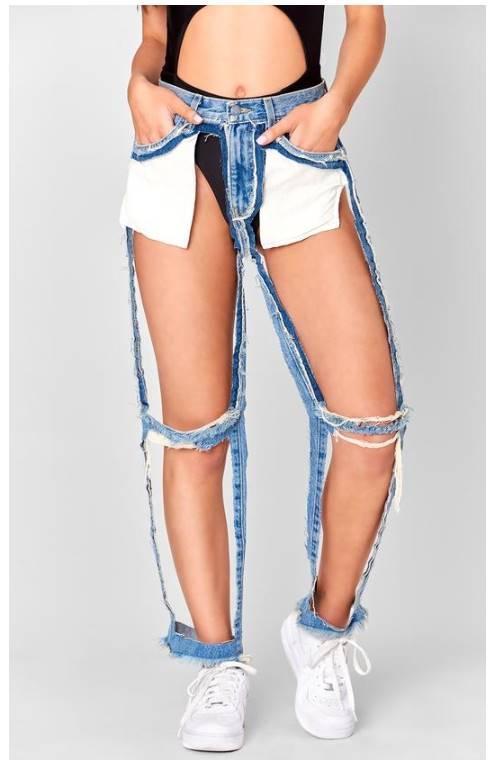 潮流品牌推出「極致透視薄紗褲」 結果「穿對小褲褲」才是真正的時尚!
