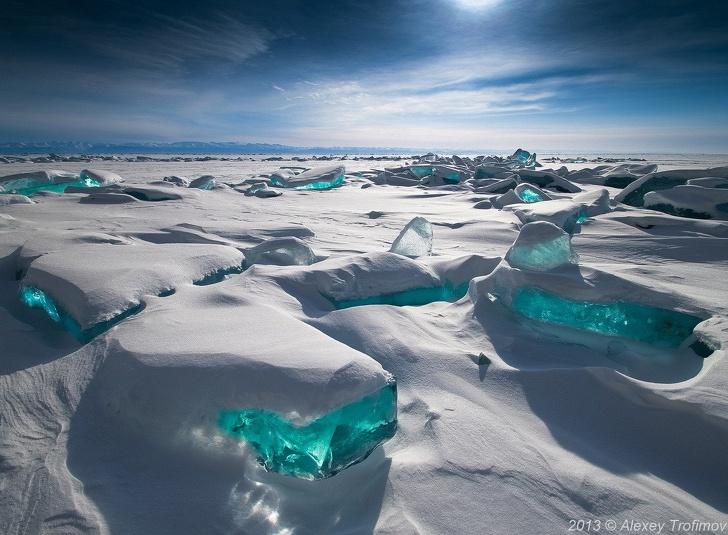 22個證明俄羅斯人「不是最強民族還是外星人」的奇景照 在冰洞泡澡太猛了!