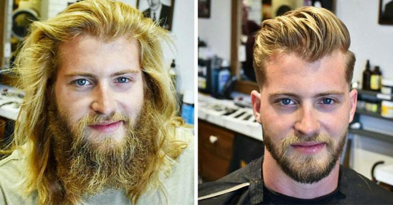 21個「換個髮型卻像重新投胎」的男人 連禿頭也可以變天菜帥哥!