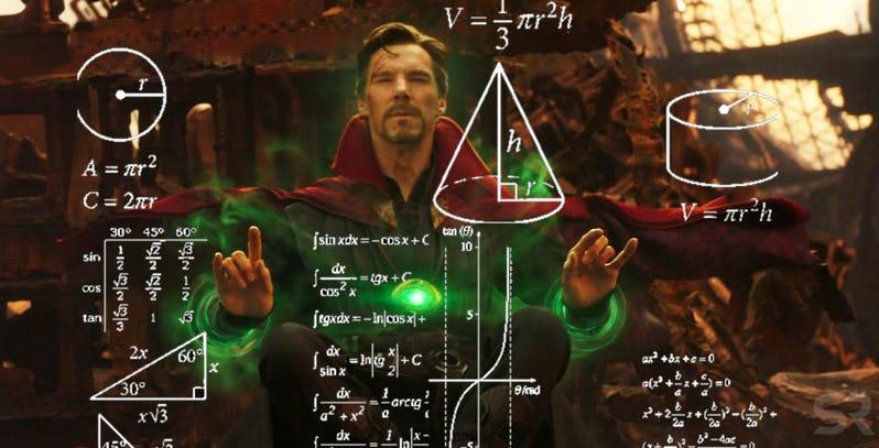 粉絲分析《復仇者聯盟3》奇異博士預測的「1400萬種未來」卻發現驚人真相:數字真的不是亂掰的!