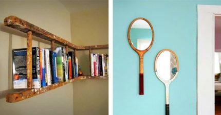 15個「直接省下裝潢費」的廢物利用神法 「壞掉舊門板」讓客廳格調直接升級!