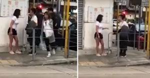 渣男「劈腿被女友抓包」全被錄下 白衣妹「邊吵邊露出壞脾氣」嚇傻路人:想讓他後悔?