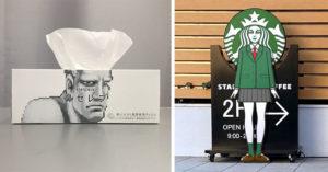 日本神人把日常物品進行「超爆笑改造」 「卡樂比妹子」表情意外欠揍~