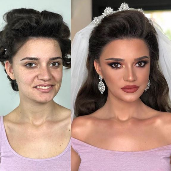 27張證明新祕有多重要的「妝前素人vs妝後巨星」新娘變身照❤