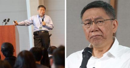 紐約座談會陸生狂問「若給你當台灣區領導人…」 柯P機智:怎不說我當上中國領導人