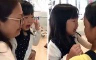 幫傭姐姐工作期滿要回印尼...女童機場「崩潰大哭送行」網友跟著爆淚:已經是家人了!