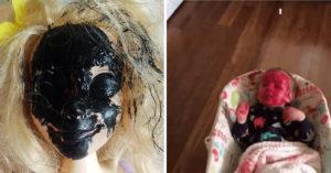20張「永遠在挑戰爸媽底線」的崩潰小孩照 走進門發現女兒「雙手直接消失」!