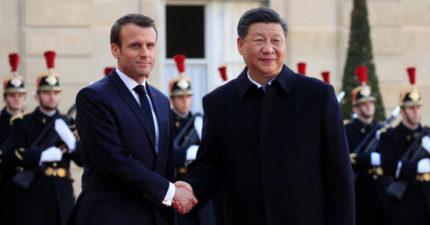 習近平訪法造成巴黎地鐵停駛 官方發公告「中華民國總統來了」網笑噴:是在宣戰?