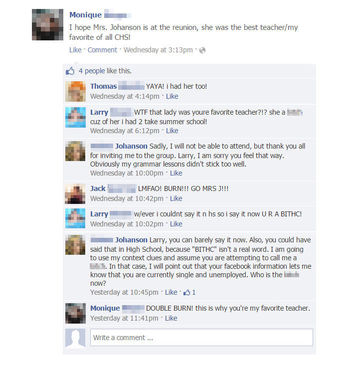 爆氣學生不滿被當「上網狠罵老師X子」 竟釣出老師本人「雙爆頭神回」打臉