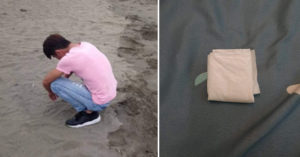 朋友送「阿嬤的祖傳秘方」害衰男被帶走 警察「開夾鏈袋驗貨」傻眼:這包裝是想害你?