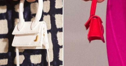 法名牌推「超迷你時尚包」被搶翻 網看「只能裝尊嚴的實品」傻眼:這要15K?