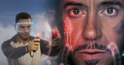 PS4推出全新「鋼鐵人VR遊戲」!變身鋼鐵人還原頭盔內「語音操縱畫面」戰鬥畫面帥炸天~