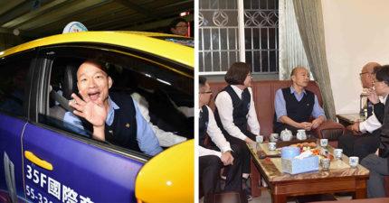 韓國瑜夜宿計程車司機家 「全家人花半個月準備」連女兒都帶著女婿趕回家