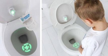大人終於找回廁所話語權!新發明讓尿尿永遠命中紅心 還有更棒用途