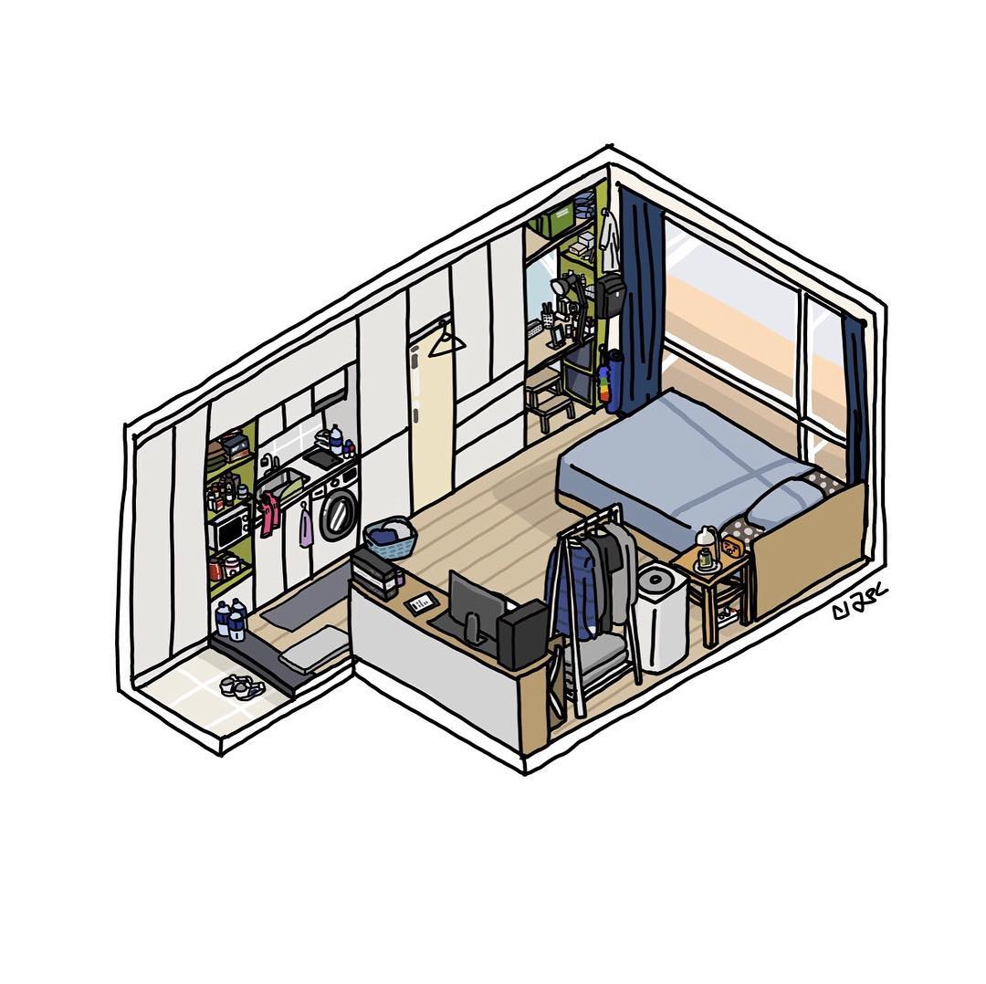 13個小坪數「也能有溫馨Villa般生活」的室內配置 「架高」真的太重要!
