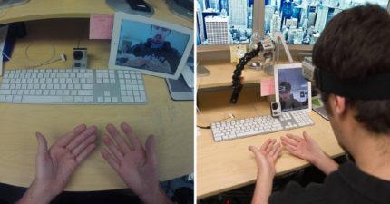 他分享「沒有指紋的雙手照」網友卻只問「你照片怎麼拍的?」 最後現身的機械海太猛了!