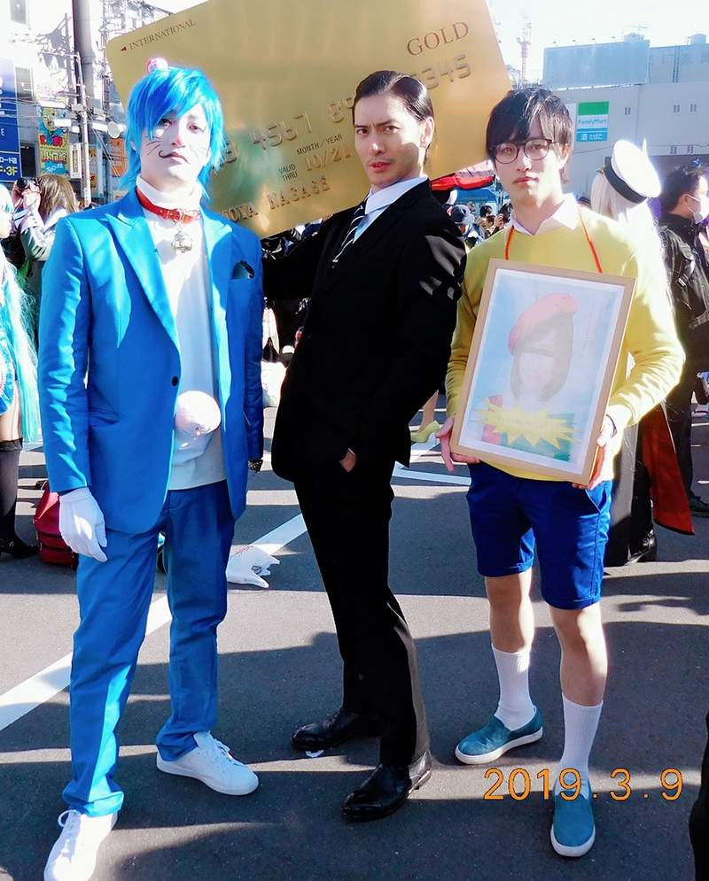 日本橋Cos盛典「廢魯大雄、129公斤哆啦A夢」變超帥美少年 網:這種我願意養!
