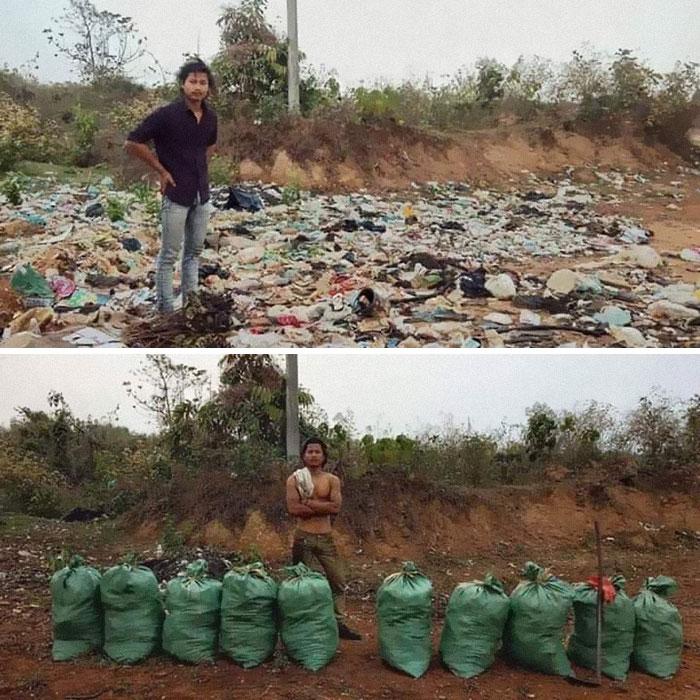 25張國外爆紅「撿垃圾運動」的超猛照片 網友看完「歸零的沙灘」狂讚:台灣超需要!