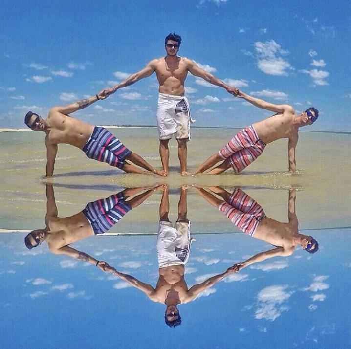 20個聰明人決定「靠自己製造奇蹟」的夢幻照 游泳教練教你如何把頭跟身體分離!
