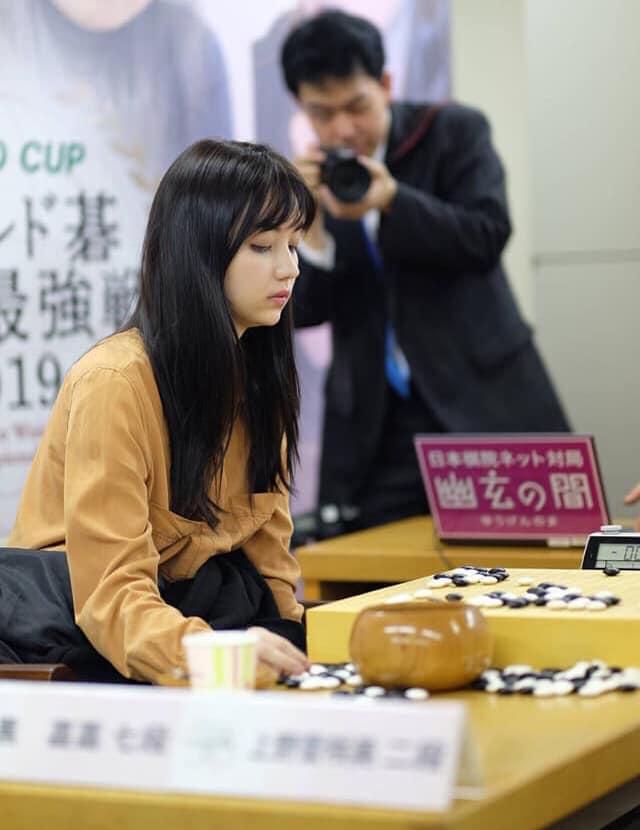 千年一遇的「台灣圍棋女神」在日本爆紅 網友大讚:坐她對面會受不了!