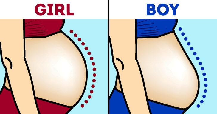 14個會讓你晚上睡不著的「最狂古怪真相」 孕婦肚子形狀能看出生男生女嗎?