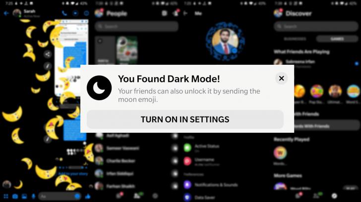臉書最新模式「暗黑模式」馬上保護眼睛!用這個表情符號就可秒開啟