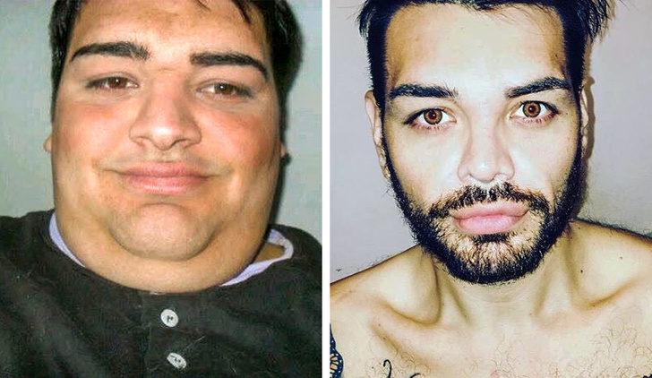 11個愛到「直接複製偶像長相」的瘋狂粉絲 他瘋狂減重172公斤真的變成「瑞奇馬汀」