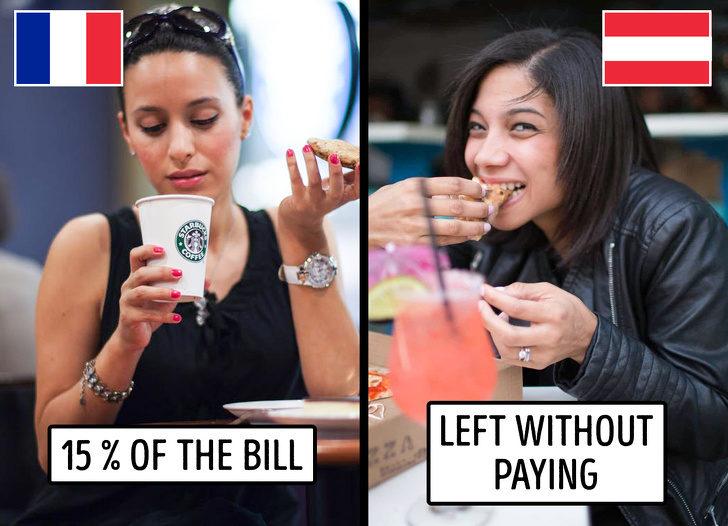 12個不想丟臉必遵守的「各國禮貌小規則」 奧地利可以吃完飯「不付錢就閃人」