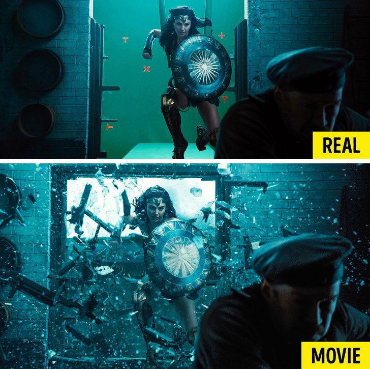 20張會直接打破你美夢的「電影特效前畫面」  鋼鐵人特效前...根本戴西瓜皮的阿伯XD