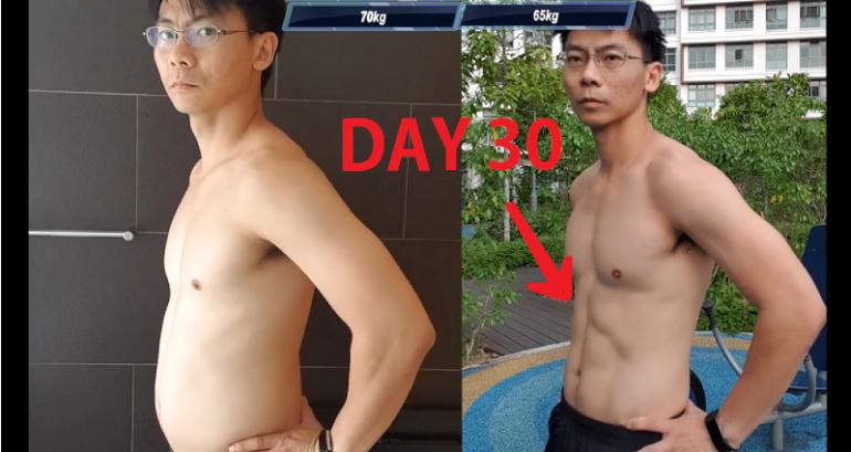 他挑戰《一拳超人》主角「地獄訓練方法」!30天後「一脫衣服」嚇壞網友:OMG