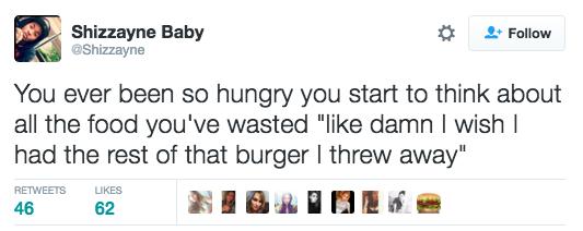 20個「餓肚子會把人搞到理智缐斷掉」的超真實飢餓心境 不要惹餓肚子的女人!