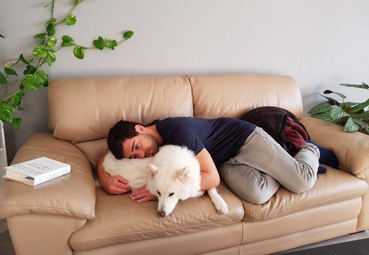 22張讓你想「馬上衝回家抱緊毛孩」的暖心寵物照 傲驕老爸幫狗狗穿上我小時候的洋裝!