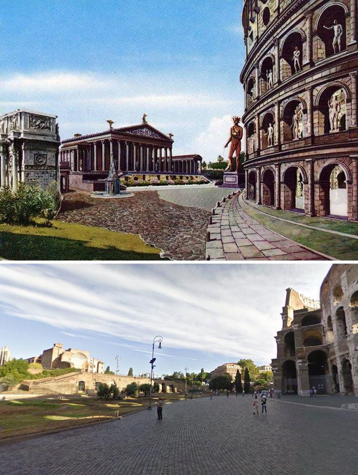 11個凱薩大帝看了會哭的「知名羅馬建築」今昔對比 納沃納廣場原來曾經這麼帥氣