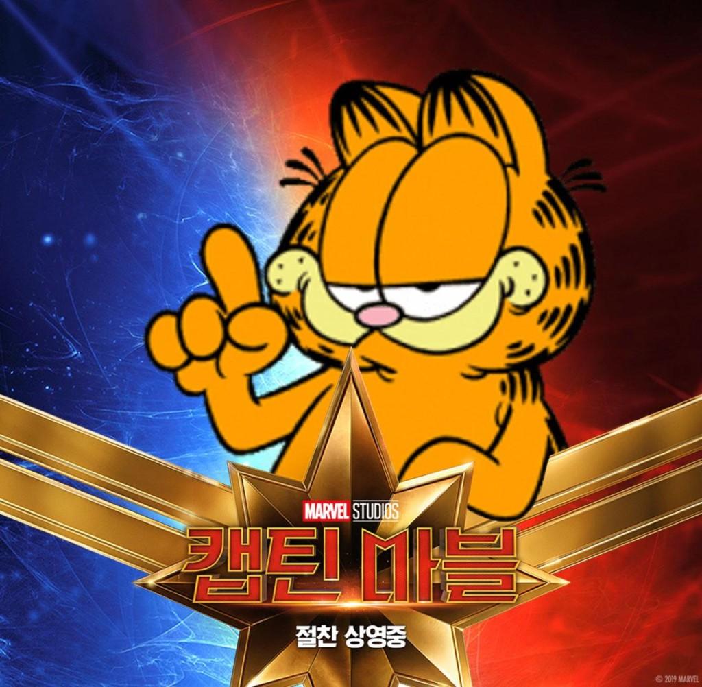 網路出現「不同花色的《驚奇隊長》喵喵」 毛奴狂P圖網友傻眼:最後那隻是怪物吧!