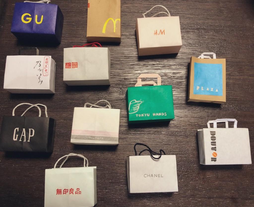 17歲高中妹製作超可愛「品牌迷你紙袋」 「連內裡也超精緻」讓收集控都瘋狂!