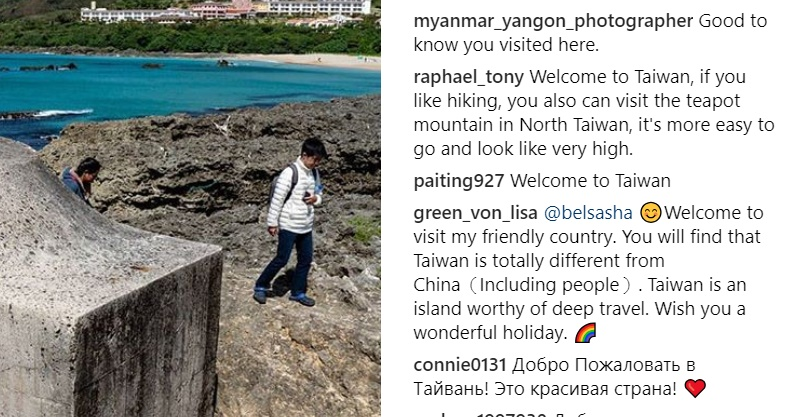 俄國網紅遊台灣被「4大超狂優點」迷倒:還以為和大陸差不多...完全不一樣!