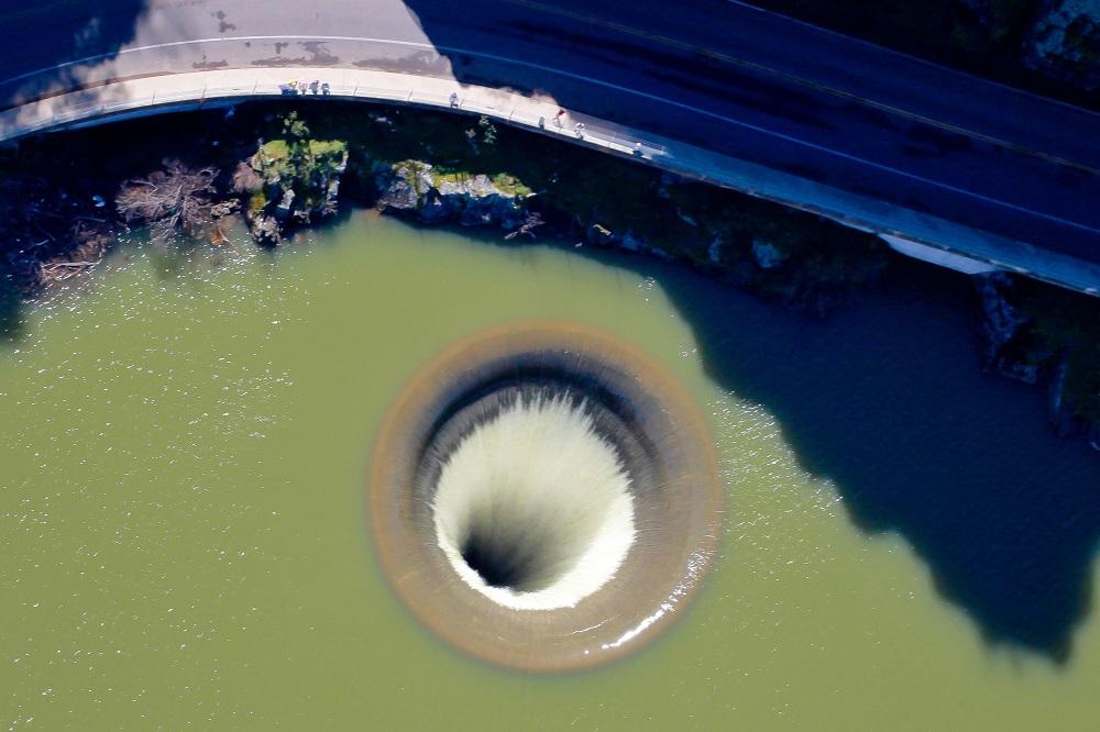 超萌鴨掉入「通往地獄的巨大黑洞」徹底消失 沒多久「輕鬆飛出來」路人無奈:牠每天都這樣玩!