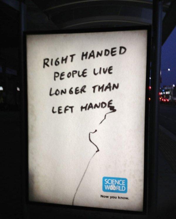 34張顯示左撇子困擾的圖片 左撇子:買東西被嚴重歧視