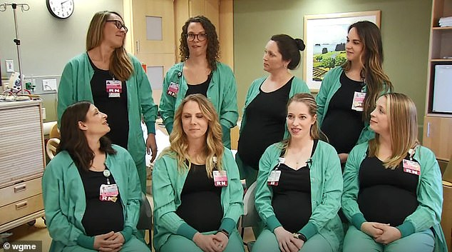 自家護士「9位同時一起大肚子」 醫院興奮公開好消息…網友搞笑回:懷孕也可以傳染?