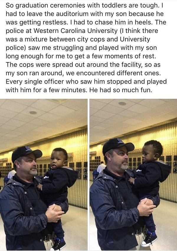 25張證明「警察其實也是人類」的爆笑照片